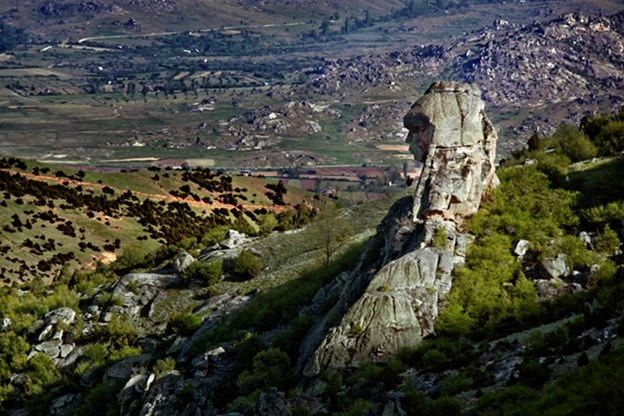 Solzana -   The Great Mother, megalith near Prilep – Macedonia, 400,000 years of Macedonian era.