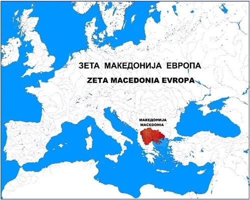 MACEDONIANS ARE THE FIRST PEOPLE CREATED SIMULTANEOUSLY ON ALL FIVE CONTINENTS
